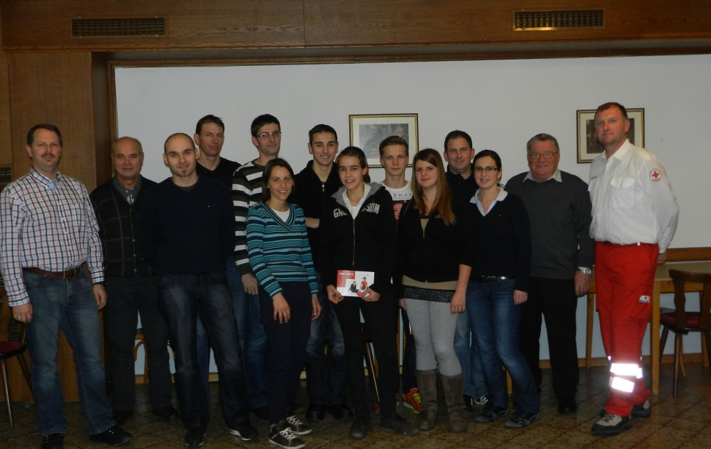 Erste Hilfe Kurs beim Kirchenwirt in Hengsberg